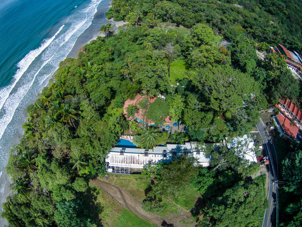 Hotel Verde Mar Aerial Photography Facing Downward