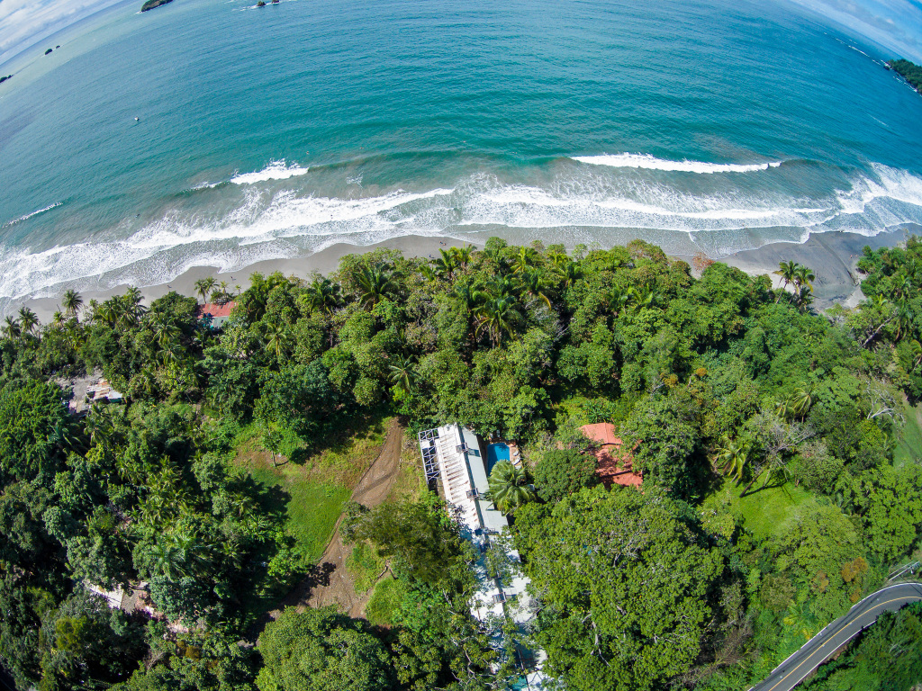 Hotel Verde Mar Aerial Photography Facing Straight Out to Ocean
