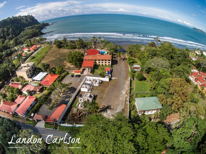Aerial Drone Video of Jaco Oceanfront Property