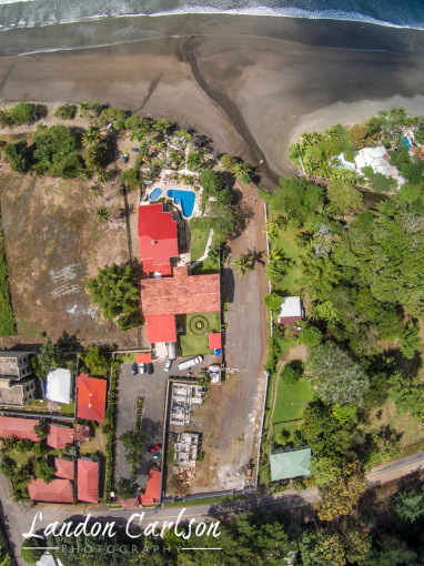 Aerial Map of Jaco Oceanfront Property