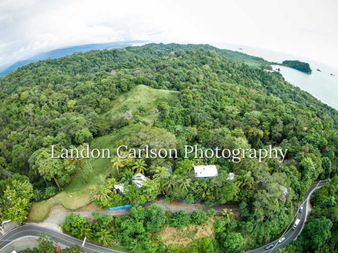 Aerial Photo of Lot for sale, up high