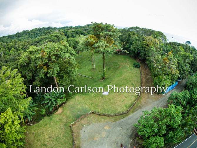 Aerial Photo of Lot for sale
