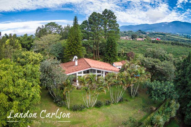 Aerial Photo in Costa Rica