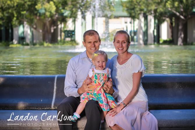 Family Outside Portraits