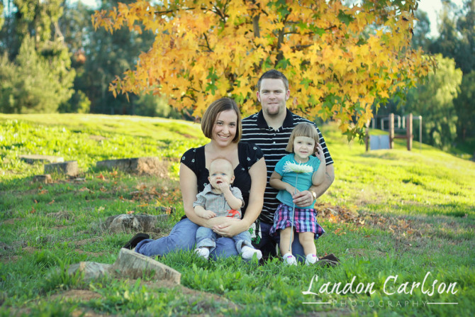 Family of Four Portraits