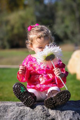 Outdoor Infant Portraits
