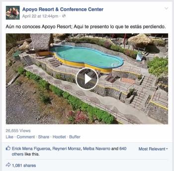 Popular Video for Apoyo Resort