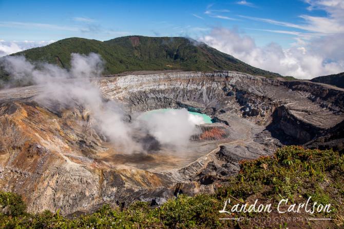 Volcano Poas Costa Rica