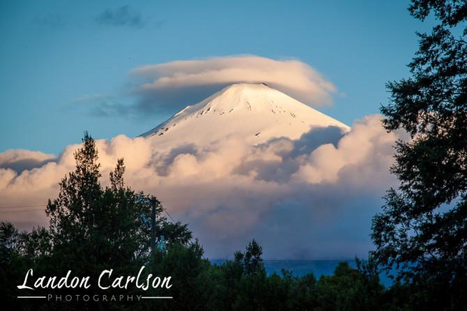 Volcano Villarica Chile