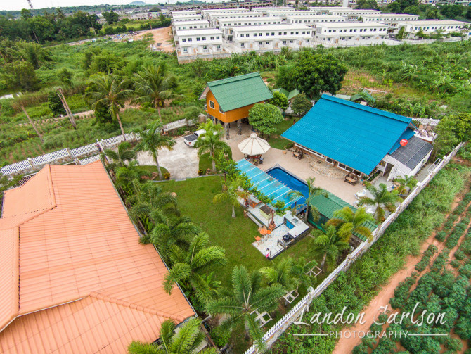 Aerial Photo of Real Estate in Thailand