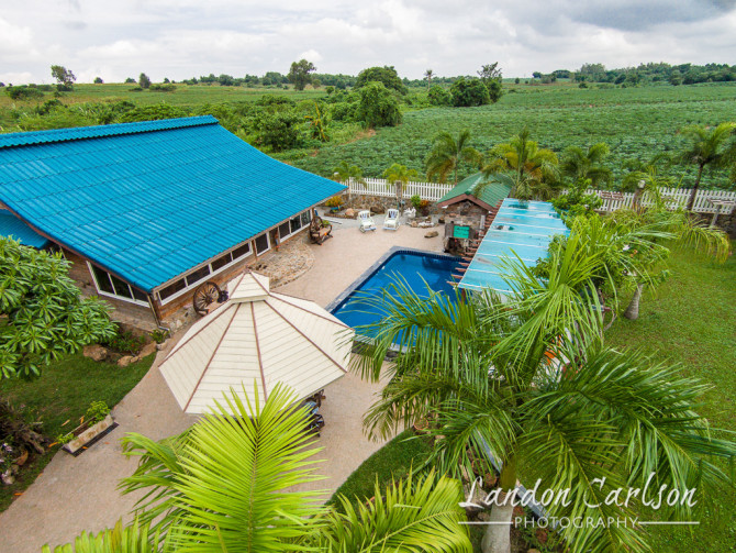 House Resort from the Air